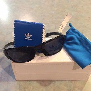 Adidas brand new black sunglasses